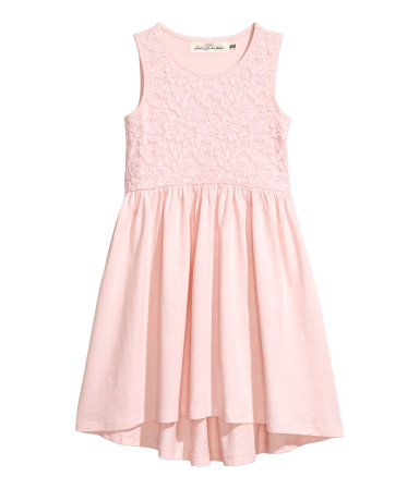 light pink dress hm