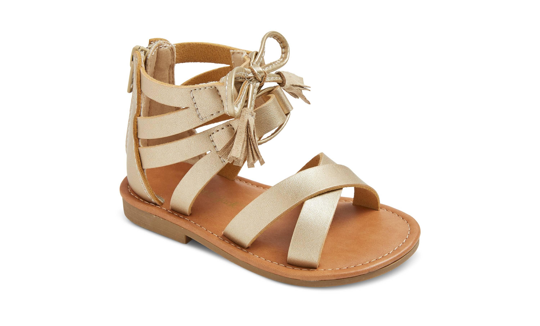 Target Gold Gladiator Sandals